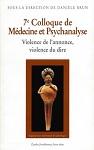 7e Colloque de Médecine et Psychanalyse