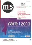 Rare 2013 - Les rencontres Eurobiomed des maladies rares