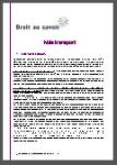 Note transport [Textes et références ; transports scolaires]