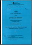 Etude des troubles cognitifs et comportementaux de la Dystrophie Myotonique de type 1