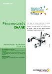 Pince motorisée XHAND