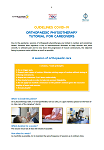 Orthopaedic physiotherapy Tutorial for caregivers