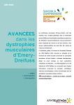 Avancées dans les dystrophies musculaires d'Emery-Dreifuss