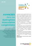 Avancées dans les dystrophies musculaires congénitales