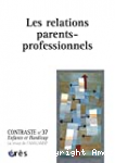 Les relations parents-professionnels